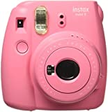#2: Fujifilm Instax Mini 9 Instant  Camera (Flamingo Pink)