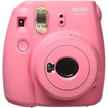 Fujifilm Instax Mini 9 InstantCamera (Flamingo Pink)