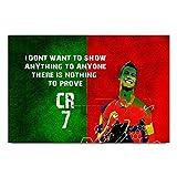 ezyPRNT Cristiano Ronaldo 'CR' Football ...