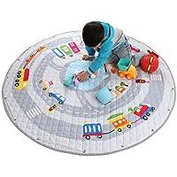 winthome alfombra de juego alfombra de actividades plegable multifunción organizador de juguetes para bebé Niños bebés, Cartoon colorido