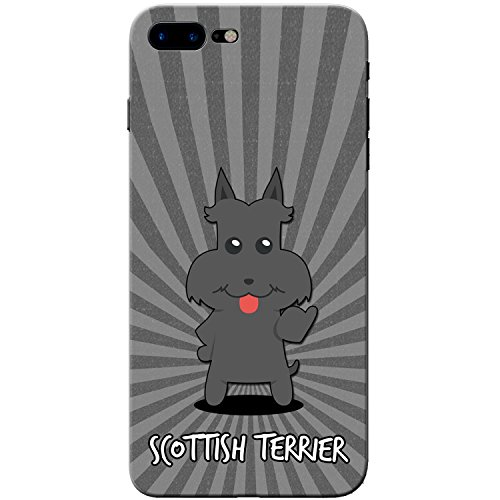 Scottish Terrier, Scottie, Aberdeen Terrier Hartschalenhülle Telefonhülle zum Aufstecken für Apple iPhone 8 Plus -