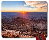 Tappetino per Mouse del Computer del Rilievo del Topo di Tramonto di Grand Canyon del Cuscinetto di Topo