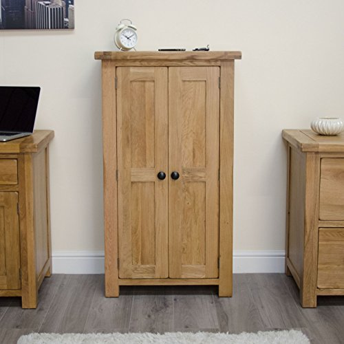 Cheapest Original Rustic Solid Oak Furniture Shoe Storage Cabinet Cupboard Rack