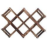Tellaboull for Hohe Qualität Klassische Holz Rotwein Rack 3/6/10 Flaschenhalter Montieren Kitchen Bar Display Regal Hohe Qualität Stilvolle