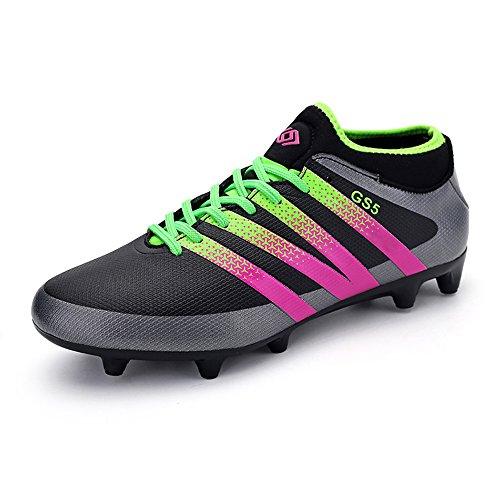 boys-football-boots-ag-spike-microfiber-cleats-teenagers-profession-athletics-ultralight-medium-cut-
