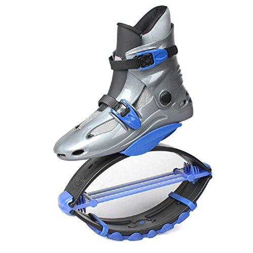 Scarpe da ginnastica per ragazzi e ragazze, salti saltare scarpe scarpe fitness salti (20-50kg), Blue, M (EU 33-35?30-50KG?)