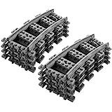 Lego Stad RC gebogen tracks X 8