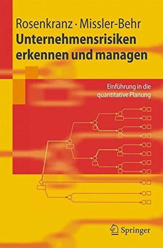 Unternehmensrisiken erkennen und managen: Einführung in die quantitative Planung