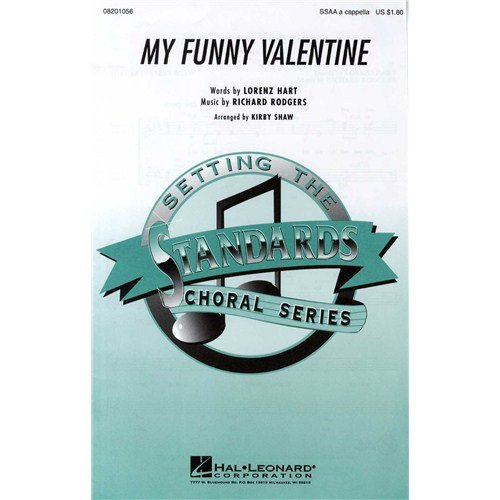 richard-rogers-my-funny-valentine-ssaa-for-coro-ssaa