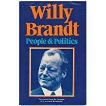 People and Politics: The Years, 1960-75 by Willy Brandt (1978-07-03)
