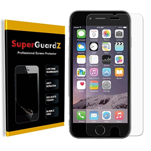 [8er Pack] für iPhone 6S 11,9 cm/iPhone 6 11,9 cm superguardz® Ultra Clear Displayschutzfolie, Kratzfest, blasenfrei [Lebenslange Garantie], Anti-Glare_iPhone 6S 4.7