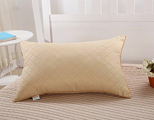 Cuscino colore-stampata aiuti sonno lento rimbalzo contro gli acari della polvere di rettifica , camel