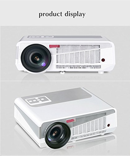 PLAY™ 5500 Lumens Android 4.4 + WIFI Smart LCD, LED full HD 1920 X 1080P 3D Wireless Home Theater digital video Projector