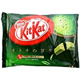 Kitkat Matcha Flavor mini chocolate 12 pcs 144g Japan Import [Standard ship by SAL: NO Tracking & Insurance]
