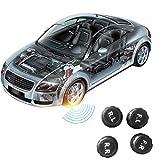 Hermosairis Smart Auto TPMS Bluetooth 4.0 Reifendruckkontrollsystem APP Display mit internen oder externen Sensoren für iOS Android