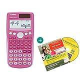 Casio FX 85 GT Plus Pink + Lern-CD (auf Deutsch)