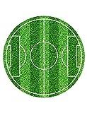 Generique - Essbarer Tortenaufleger Fußballfeld