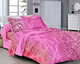 Classic FP Pink Floral Cotton Double Bed...