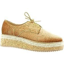 Alpargatas Altas estilo zapato