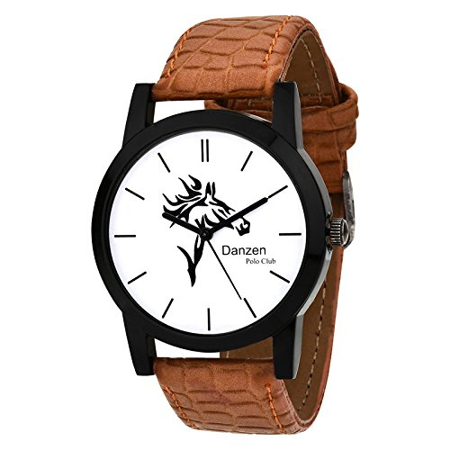 Danzen Polo Club wrist watch for mens DZ-481  available at amazon for Rs.299
