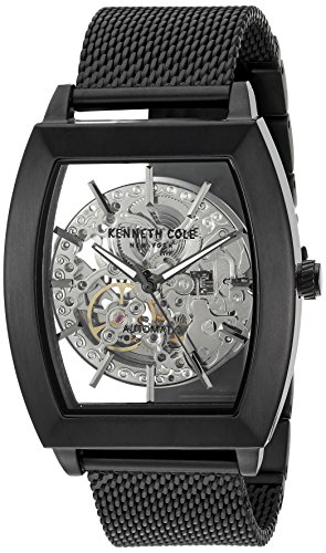 Kenneth Cole New York Mens Analogue Japanese-Automatic Watch with Stainless-Steel Strap 10031270