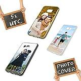 Premium Foto-Handyhülle für HTC-Serie mit eigenem Foto selbst gestalten, Hülle:Slim-Silikon / Transparent, Handymodell:HTC One A9S