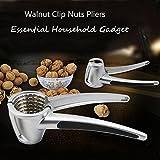 Bazaar Nuez de nogal clip de pinzas de galleta nueces de nogal avellana peeling peeling herramienta de sujeción