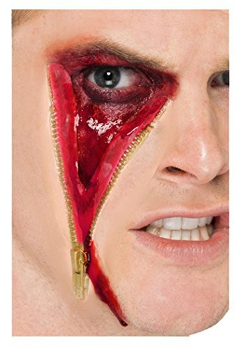 Unisex Kosmetik & Disguises Spezialeffekt Wunden/blut Reißverschluss Gesicht Narbe ()