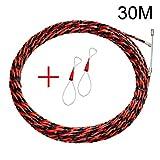 Domeilleur, Kit di strumenti per l'installazione di cavi, cordina per elettricisti, 30 m