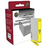 Cartucho de tinta amarillo de alto rendimiento remanufacturado para Officejet 4620 Photosmart 5510 6510 7510 B8550 C6340 C6350 C6380 D5445 D7560 (alternativa para HP CB325WN CN687WN 564XL) (750 hilos)