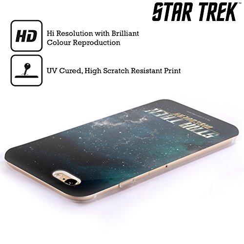 Ufficiale Star Trek Delta 2 Discovery Logo Cover Morbida In Gel Per Apple iPhone 6 / 6s Senza Scudo