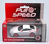 Carrera CAR17171 PORSCHE GT3 RS WHITE PULL SPEED 1:43 MODELLINO MODEL