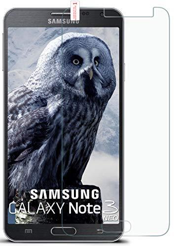OneFlow Vetro protettivo antirottura per Samsung Galaxy Note 3 Neo Pellicola protettiva antirottura pellicola vetro | Pellicola protettiva display in vero vetro | Adattabilità perfetta e protezione ottimale