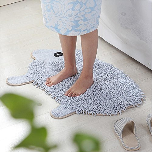 TOYM- Tappeto zerbino cucina soggiorno bagno privato servizi igienici tamponi di cotone assorbente del fumetto (Spesso Cucina Tappeti)