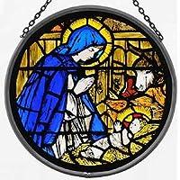 Vidriera Mountain/colada de la Virgen y el niño diseño.