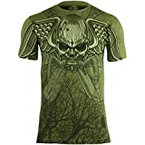 7.62 Design Herren USMC Recon Swift Silent Deadly T-Shirt Military Grün Größe XL