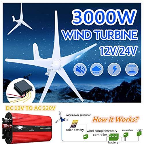 SISHUINIANHUA wasserdichte Windkraftanlagen Generator Laderegler Regler 500W-2000W Auto Wechselrichter Spannungswandler 12V 220V,2000w