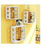 Royal Handicrafts MDF Wall Shelf (Set fo 3)