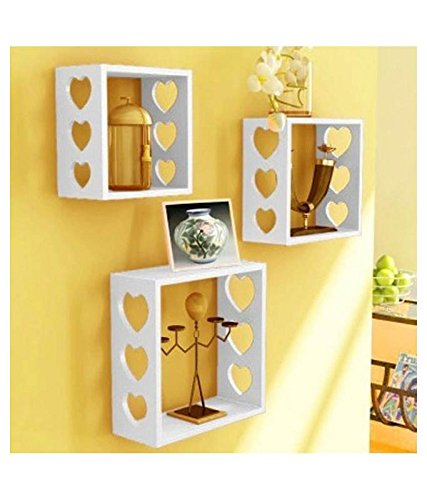 Royal Handicrafts MDF Wall Shelf (Set fo 3)