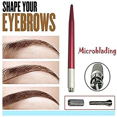 Pinkiou Microblading Pen Eyebrow Tattoo Pen Microblade Tattoo Machine for Eyebrow Eyeliner from Eyebrow Tattoo Pens
