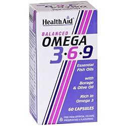 Healthaid Balanced Omega 3.6.9 - 60 Capsules