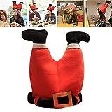Cappello da Babbo Natale con musica da ballo Canto natalizio Cappello di Babbo Natale, regali innovativi di cappello da Babbo Natale per bambini e adulti