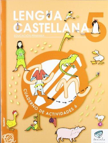 Txanela 5 - Lengua castellana 5. Cuaderno de actividades 6 - 9788497834834 por Maite Saenz Oiarzabal