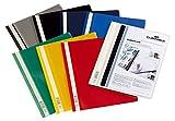 DURABLE Hunke & Jochheim Angebotshefter DURAPLUS, strapazierfähige Folie, DIN A4, farbig sortiert