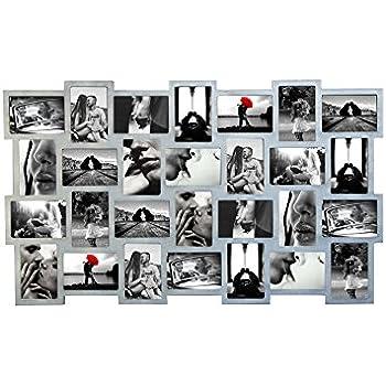 Mobili rebecca portafoto multiplo cornici fotografie 28 for Cornici per foto multiple