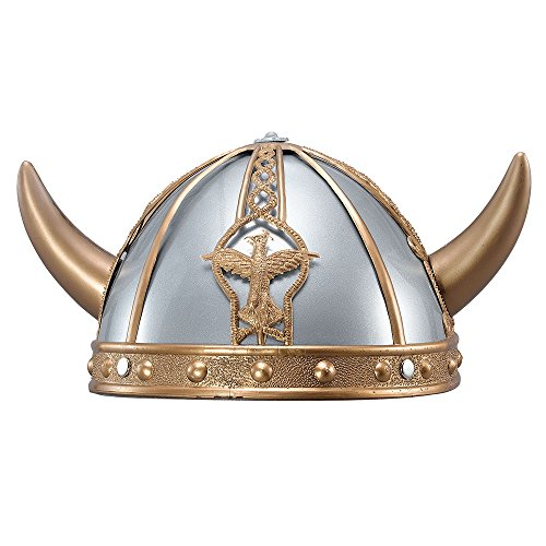 Bristol Novelty bh390 Viking Helm, mehrfarbig, one - Viking Boy Kinder Kostüm