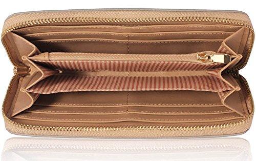 Trendstar Frauen Brieftaschen Damen Geldbörsen Kleine Hoch Qualität Mädchen Kartenhalter Neue F - Grau