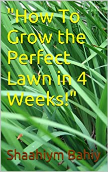 How To Grow a Perfect Lawn in 4 Weeks! (English Edition) von [Bahiy, Shaahiym]