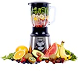Duronic Blender BL10 1000W Smoothie 1.5L Glass Jug Table Blender - Stainless Steel Body| Powerful