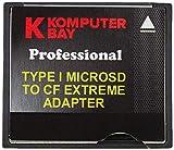Komputerbay MicroSD auf CompactFlash-Adapter High Speed   Micro SD bis Compact Flash Typ I CF